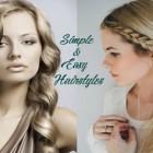 Self making easy hairstyles