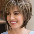 Short hairstyles for circle faces