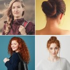 Simple hairstyles for beginners