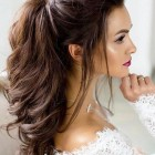 Simple long hair style