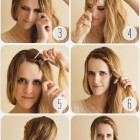 Super fast hairstyles