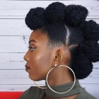 Updos for short natural hair