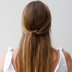 Very simple hair style