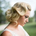 Vintage bridesmaid hairstyles