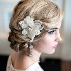 Vintage hair updos for wedding