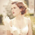 Vintage hairstyles for short hair wedding