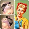 Vintage hairstyles for thin hair