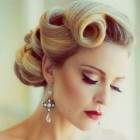 Vintage upstyles for long hair
