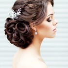 Beautiful hairstyles for a wedding