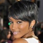Black short pixie hairstyles