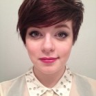 Cute pixie cuts with bangs