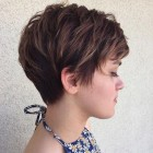 Hair cut pixie