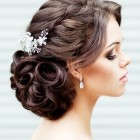 Hair style for a wedding