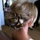 Hair wedding updo