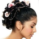 Latest hair style for wedding
