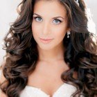 Long hair hairstyles for wedding