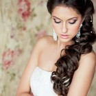 Long hair wedding hair