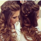 Long hairstyles for wedding guest