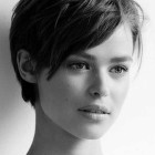 Models with pixie haircuts