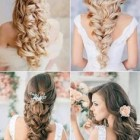 Nice hairdo for wedding