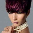 Pixie cut hair color