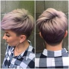 Pixie cut hair dye