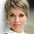 Pixie cut short hair