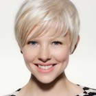 Pixie cut with fringe