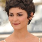 Pixie haircut wavy hair