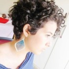 Short pixie curly hairstyles