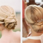 Summer wedding updo hairstyles