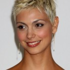 Very short pixie haircut