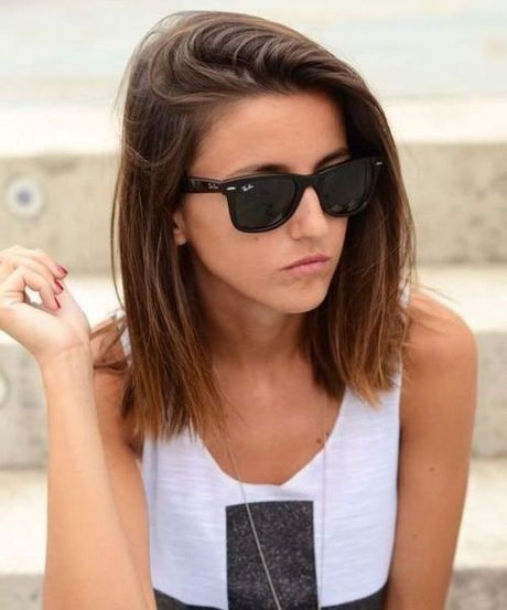 Blunt haircut for thin hair