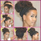 Cute easy hairstyles for natural curly hair