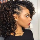 Different hairstyles for natural curly hair