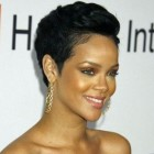 Extremely short black hairstyles