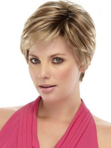 Hairstyles for short thin hair female