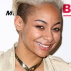 Short blonde haircuts for black females