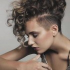 Short curly hair designs