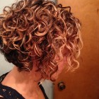 Short hair hairstyles for curly hair