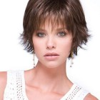Short layered hairstyles for thin hair
