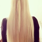 Beautiful blond hair