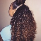 Black long curly weave hairstyles