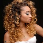 Curly wavy weave hairstyles