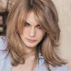 Ladies medium length layered hairstyles