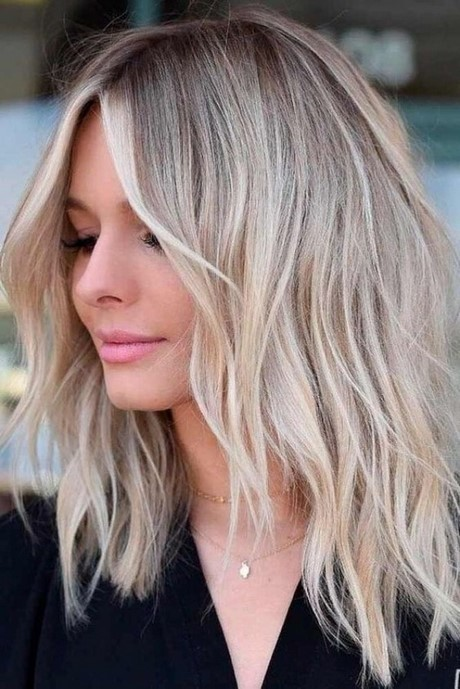 Layers for medium long hair