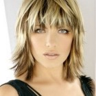 Med length layered haircuts