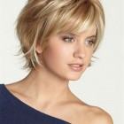 Short style haircuts with bangs