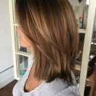 Shoulder layered hairstyles