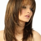 Stylish haircuts with bangs